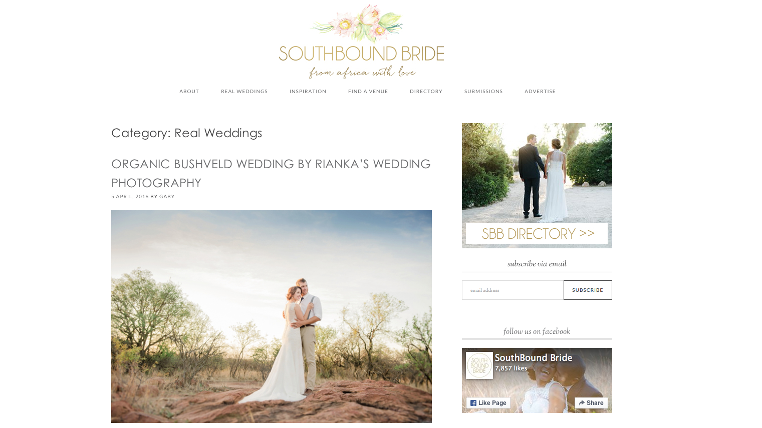 riankasweddings south bound bride wedding feature